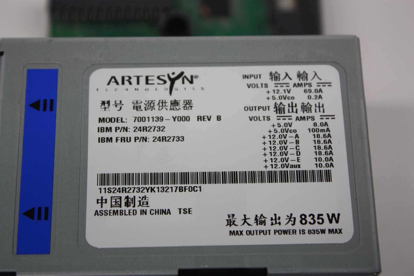 artseyn ibm x3650 power supply distribution board 7001139 y000 rh ebay com