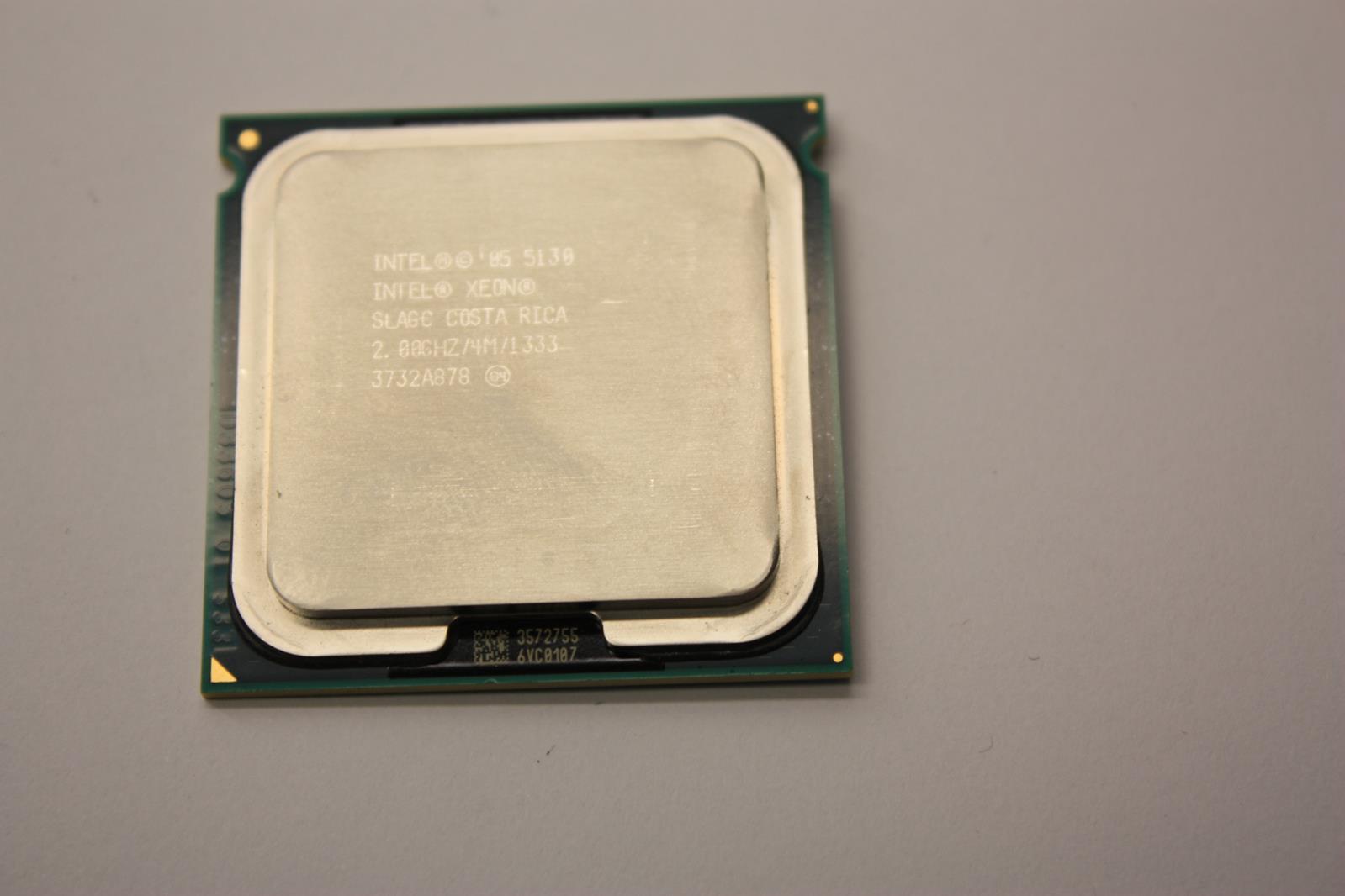 Genuine Intel Xeon CPU Computer Processor SLAGC 2GHZ 1333MHZ 4MB Dual Core 5130 Certified Refurbished