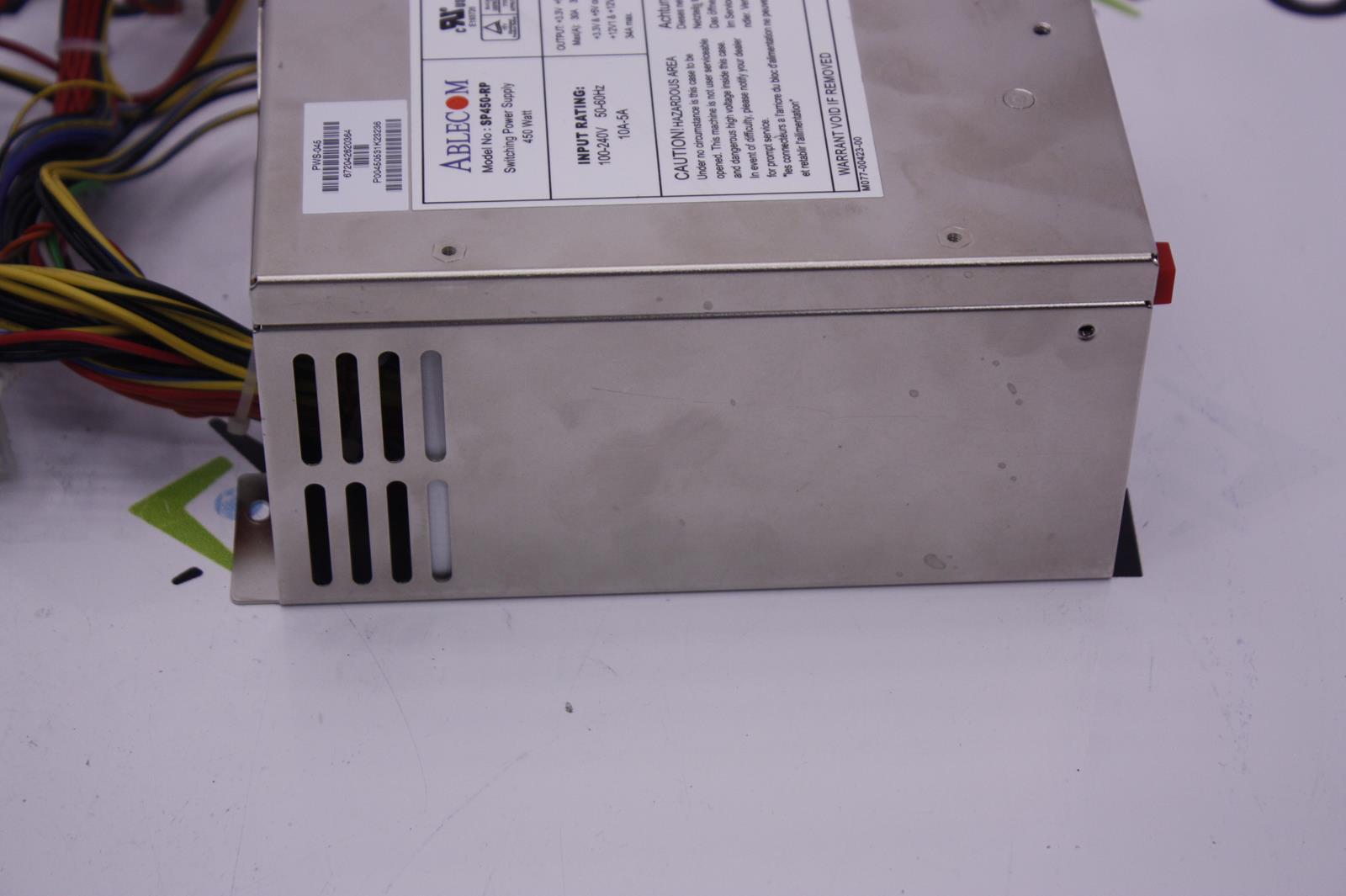 Supermicro Ablecom Sp450 Rp 450w Server Power Supply Ebay 2 Watt Switching